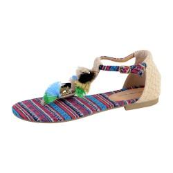 Sandale Plate Femme The Divine Factory