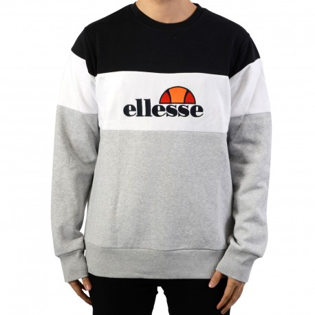 Sweat Ellesse Heritage EH H CREW NECK TRICOL EMBROIDERY