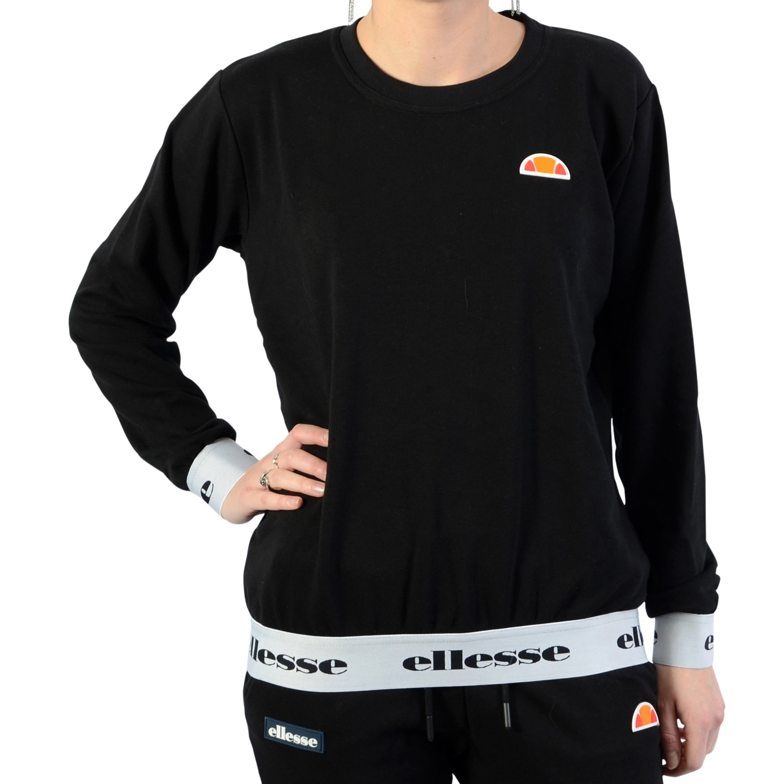 Sweat F Heritage Rond Eh Col 2 Galerie Femme Sws Ellesse Chic Y6gyI7bfv