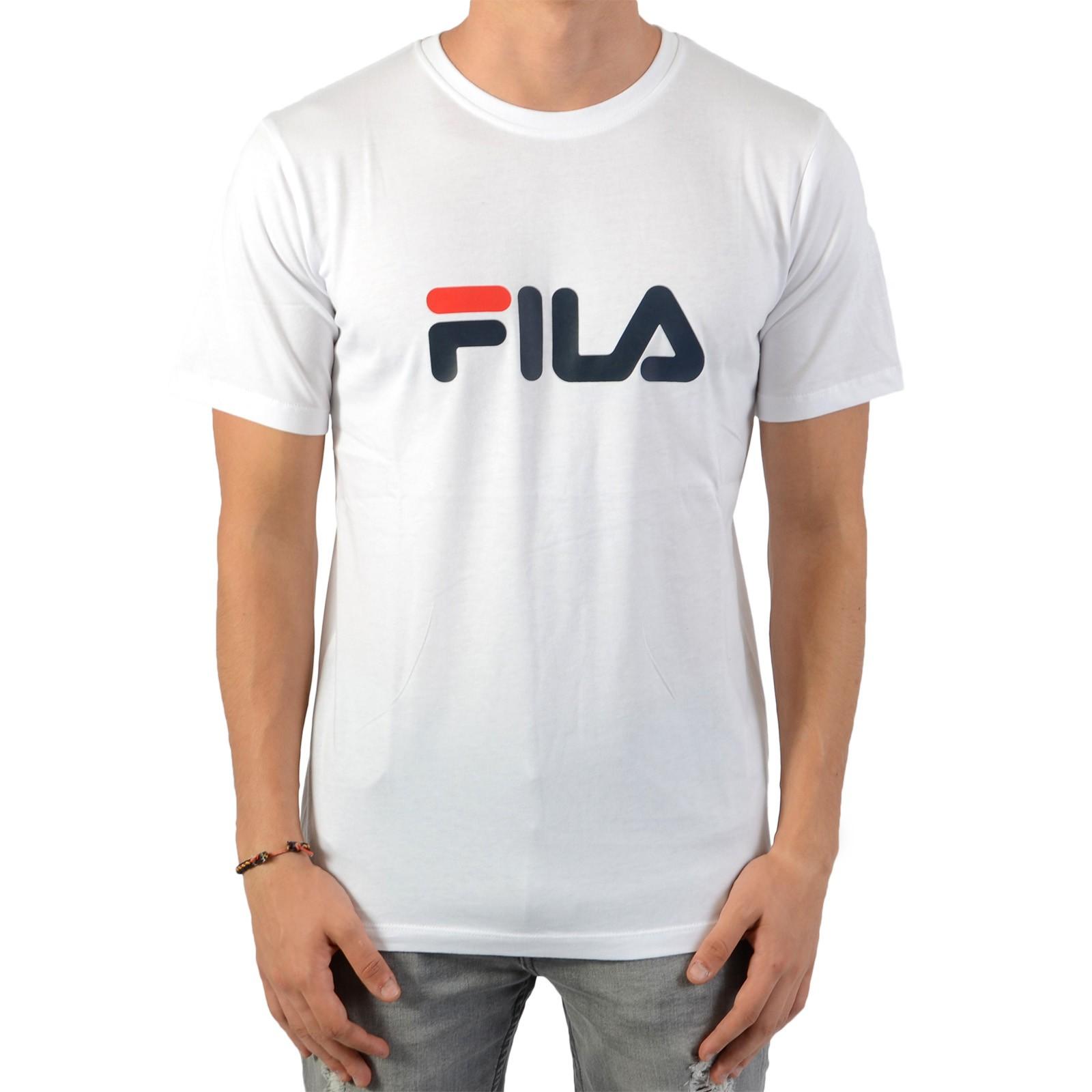 comment commander rechercher les plus récents boutique pour officiel Tee Shirt Fila Enfant Classic Logo