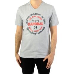 Tee-Shirt Col V Kaporal Golia