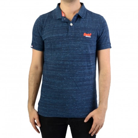 Polo SuperDry Orange Label Jersey SS