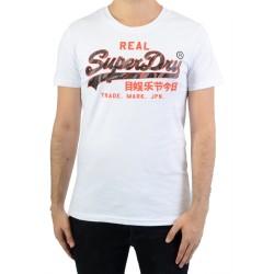 Tee-Shirt SuperDry Vintage Logo Camo Mid