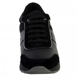 Basket Geox D Airell A - SUEDE+SYNT.LEA