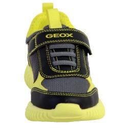 Basket Enfant/Garçon Geox J Waviness B. A - GBK+TEXT