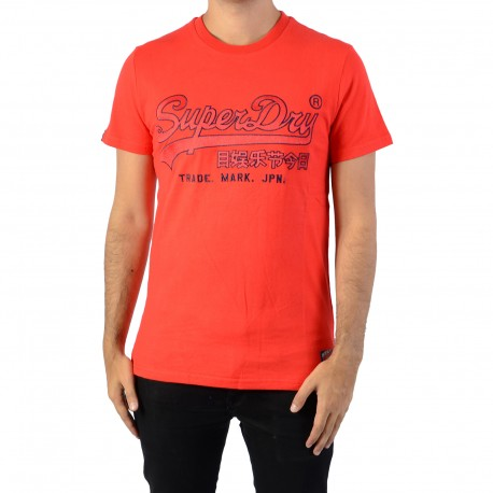 Tee-Shirt SuperDry Downhill Racer Applique
