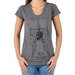 T-Shirt Eleven Paris Kriha Gris Rock