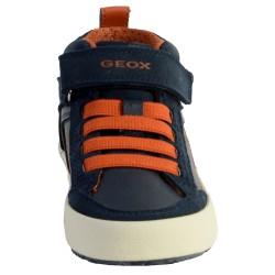 Basket Geox Enfant/Garçons J Alonisso B.N -NYL+GBK SUE