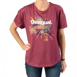 Tee-Shirt Desigual Oversize Ethnic
