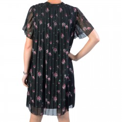 Mini Robe NA-KD Floral Pleated