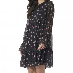 Robe NAKD Floral Print Ruffled Dress