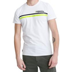 Tee Shirt SuperDry Core Logo Sport Stripe