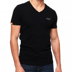Tee-Shirt SuperDry ORG Label Vntge Emb Vee