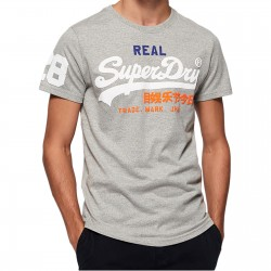 Tee Shirt SuperDry Vintage Logo Tri