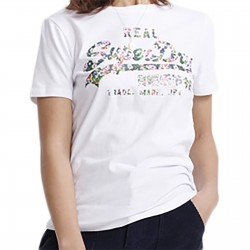 Tee Shirt Superdry VL Gloss Floral Entry