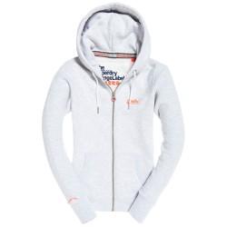 Sweat Zip Superdry Orange Label Hood