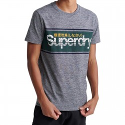 Tee Shirt SuperDry Core Logo Stripe