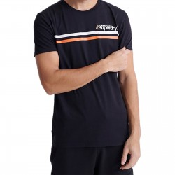 Tee Shirt SuperDry Core Logo Sport Stripe