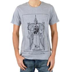 T-Shirt Eleven Paris Tort Gris Chiné