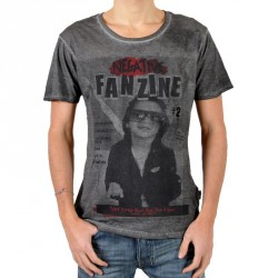 T-Shirt Eleven Paris Fanzine 2 Noir