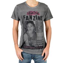 T-Shirt Eleven Paris Fanzine 4 Noir