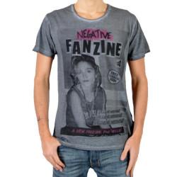 T-Shirt Eleven Paris Fanzine 4 Gris