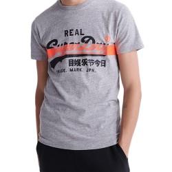 Tee Shirt SuperDry VL Cross Hatch