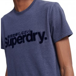 Tee Shirt SuperDry Core Faux Suede