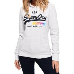 Sweat SuperDry Vintge Logo op Entry Hood