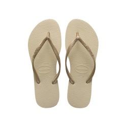 Tong Havaianas H Slim pour Femme Sand Grey