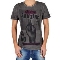 T-Shirt Eleven Paris Fanzine 1 Noir