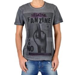 T-Shirt Eleven Paris Fanzine 1 Gris