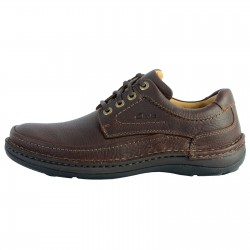 Derby Cuir Clarks Nature Three