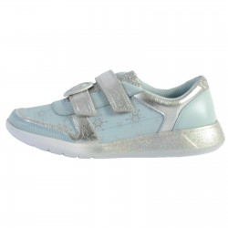 Basket Cuir Clarks Enfant Space Ice K