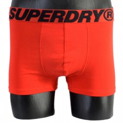 Pack de 2 Boxers Superdry Double Coton Trunk