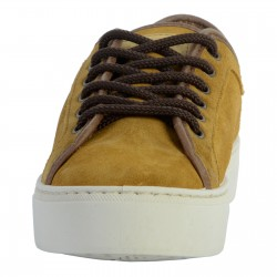 Basket Cuir Natural World On Suede