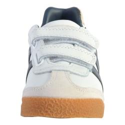 Basket Cuir Enfant Gola Harrier Leather Velcro