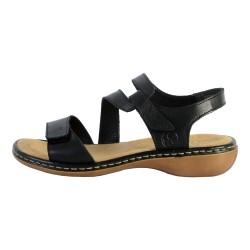 Sandales Cuir Rieker Cristallino