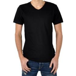 T-Shirt Eleven Paris Ligne 1 L1VSS Noir