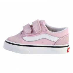 Basket Cuir Enfant Vans Old Skool