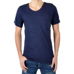 T-Shirt Eleven Paris Ligne 1 L1RP Bleu Navy