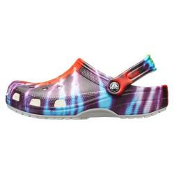 Sabot Crocs Classic Tie Dye Graphic