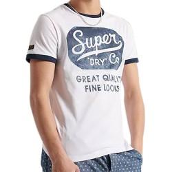 Tee-Shirt SuperDry Workwear Ringer