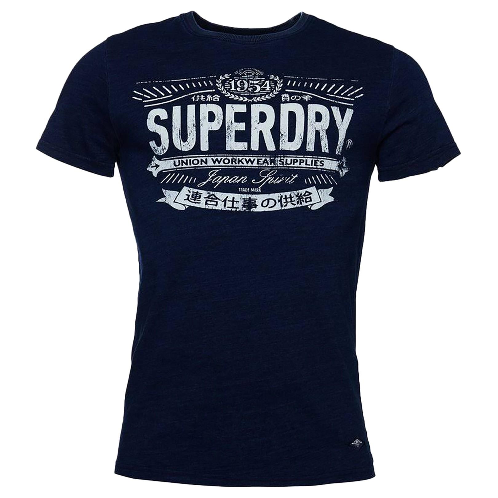 Tee-Shirt SuperDry Vintage Indigo