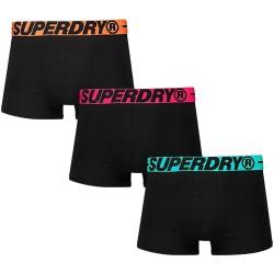 Pack de 3 Boxers Superdry Trunk