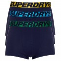 Boxer Superdry Trunk Triple Pack