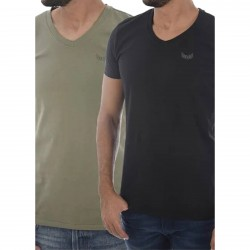Pack de 2 Tee Shirt Manches Courtes Kaporal Gift