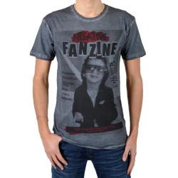 T-Shirt Eleven Paris Fanzine 2 Gris