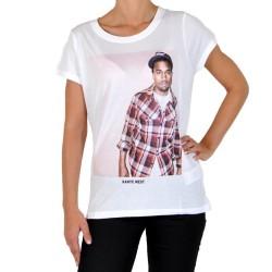 T-Shirt Eleven Paris Kanye West W Ts Blanc