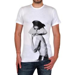 T-Shirt Eleven Paris Gaga Bich Ts Blanc